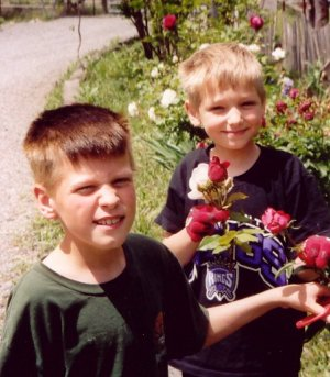Caleb and Jacob 2003